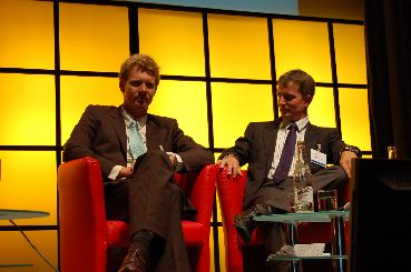 Panel speakers Mads Bergendorff and Roland Nolte