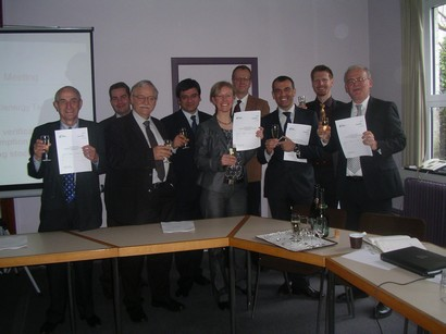 The Steering Board Railenenergy celebrates the first TecRec